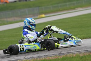Austin Garrison is making his COMPKART debut this weekend (Photo: EKN)
