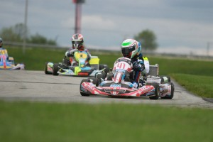 Braden Eves landed his first USPKS IAME Pro victory (Photo: EKN)