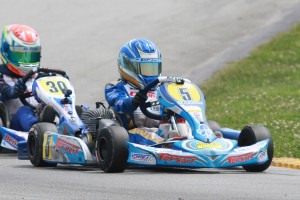 Jason Welage leads the top returning drivers in the TaG Cadet division, now utilizing the IAME Swift engine (Photo: EKN)