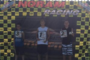 206 Junior Saturday podium