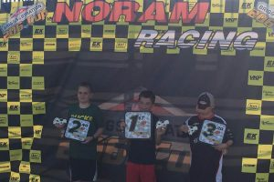206 Sportsman Saturday podium