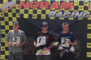 206 Masters Sunday podium