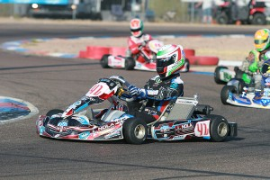 Eves recorded his first SKUSA Pro Tour victory at the SpringNationals, and is the current X30 Senior point leader (Photo: EKN)