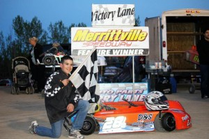 Donny Lampman in Victory Lane