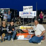 Donny Lampman in Victory Lane for the 4th time of 2016