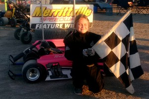 First time Feature Winner Madelyn Goulding