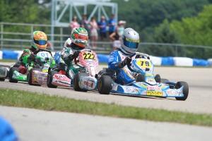 Pesek has established himself as the driver to beat in Yamaha Pro (Photo: EKN)