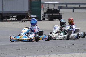 Jordan Turner won a close battle in the PRD 2 category (Photo: KartRacerMedia.com)
