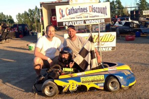 Nigel Pendykoski in Victory Lane for the 3rd time of 2016