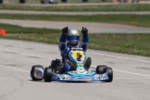 Dakota Pesek doubled up in the win column for Yamaha Senior (Photo: Kathy Churchill - Route66SprintSeries.com)