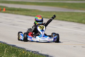Elliot Cox swept the weekend in the Yamaha Rookie division (Photo: Kathy Churchill - Route66SprintSeries.com)