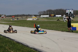 Zack Pretorius dominated the opening weekend in Yamaha Junior (Photo: Kathy Churchill - Route66SprintSeries.com)