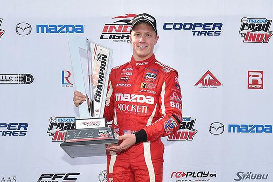 2015 Indy Lights Champion Spencer Pigot