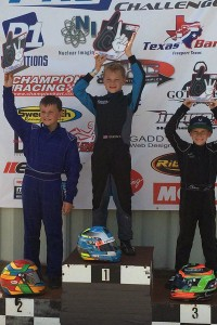Colin Queen swept the weekend in IAME Mini Swift in his 2016 series debut (Photo: TPKC)