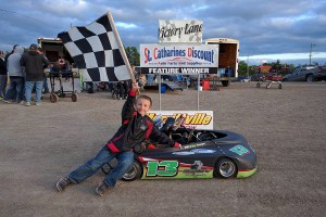 William Younger - 3 time Kart Winner