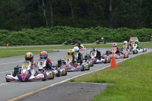 Matthew Taskinen led the Rotax Junior field the entire weekend (Photo: Dalton Egger - CanAmKartingChallenge.com)