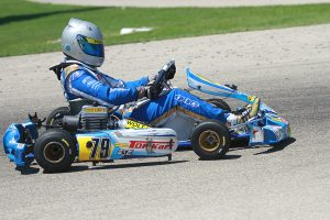 Dakota Pesek won both finals at the Route 66 Sprint Series and doubled up at the USPKS event - both in Shawano (Photo: EKN)