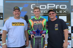 Brandon Lemke took home $3,750 for his performance on the weekend (Photo: EKN)