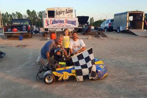 Nigel Pendykoski in Victory Lane for the 4th time of 2016