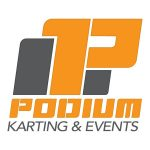 Podium Karting & Events logo