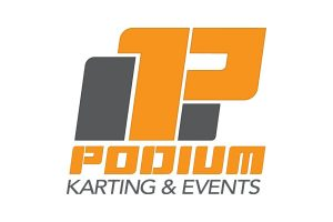 Podium Karting & Events logo