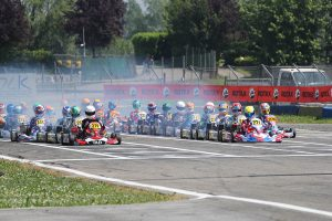 Rotax Euro Challenge Race Action
