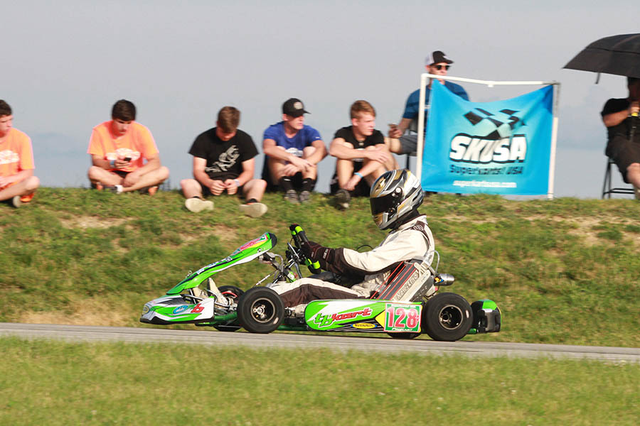 A dominant victory for AJ Myers and TB Kart in S1 (Photo: EKN)