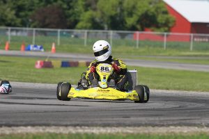 It was a near perfect day for Erik Jackson in the MMK machine, driving to his first X30 Master win (Photo: EKN)