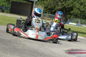 Cade McKee dominated the weekend in Rotax Junior (Photo: DreamsCapturedPhoto.net)