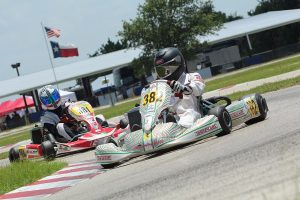 Brett Mitchell continued his stranglehold on Rotax Senior, sweeping the weekend in Katy (Photo: DreamsCapturedPhoto.net)