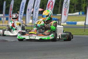 Brandon Lemke won his third IAME Pro Final of the season (Photo: EKN)