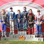Weekend winners from the fourth stop of the WKA Manufacturers Cup Series (Photo: EKN)