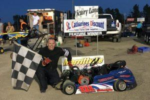 John Farnan Lindberg in Victory Lane for the third time