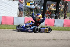 Two more wins for Indy Ragan in Kid Kart (Photo: Kathy Churchill - Route66SprintSeries.com)