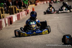 10 years later, former 80cc Junior standout Zach Schiff is back behind aboard the same kart