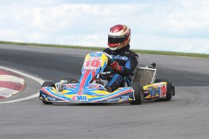 Jacob Donald notched a second victory in Pro IAME Senior, securing the $1,000 payday for weekend winner (Photo: EKN)