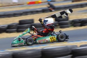 Tyler Gonzalez continued his successful season of Mini Max racing, winning the final at the Grand Nationals