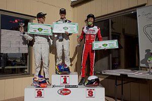 1st - Michael Avansino, 2nd - Zach Pettinicchi, 3rd - Kyle Loh