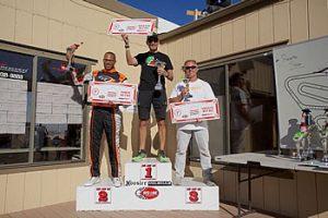 1st - Rene Martinelli, 2nd - Kevin Woods, 3rd- Eric Molinatti