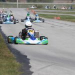 Tyler Gonzalez and Team CRP were dominant in Pro IAME Junior this past weekend in  WKA Manufacturer's Cup competition (Photo: Dave Cole - eKartingNews.com)