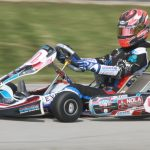 Braden Eves scores the WKA Manufacturer's Pro IAME Senior and Yamaha Senior titles  (Photo: Dave Cole eKartingNews.com)