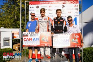 Matthew Taskinen and Coltin McCaughan won the Rotax Grand Finals tickets at the Can-Am Karting Challenge finale