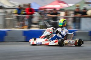 Jake won the S1 division in only his second start at the California ProKart Challenge (Photo: DromoPhotos.com)