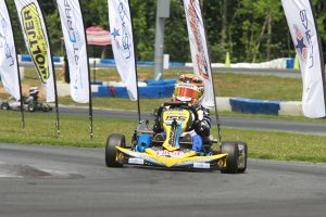 Can anyone stop Reece Gold in IAME Cadet? (Photo: EKN)