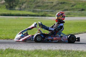Braden Eves leads the Yamaha Senior championship (Photo: EKN)