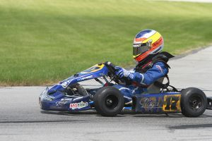 Indy Ragan is on the verge of the Kid Kart championship (Photo: EKN)
