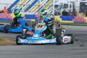 Pauly Massimino enters the finale leading the IAME Junior standings (Photo: EKN)