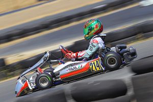 Dylan Tavella will look to add to his already impressive resume at the Rotax Max Challenge Grand Finals in Italy (Photo: CKN)