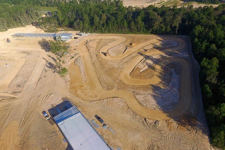 The SpeedsportZ rental kart track is ready for paving (Photo: SpeedsportZ Racing Park)