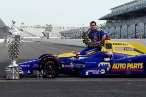 2015 Indianapolis 500 winner Alexander Rossi is confirmed for the SKUSA SuperNationals 20 next month (Photo: Eric Schwarzkopf - RacingMediaOnline.com)